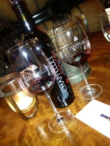 Chappellet Winery Tour