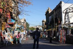 La Boca, Argentina (The colorful neighborhood)